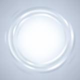 Abstract ripple liquid round frame.