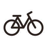 Bicycle icon. Bike symbol