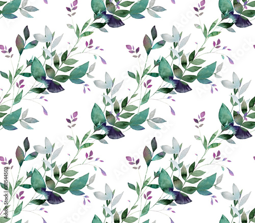 Abstract background base on watercolor painting. Hand drawn seamless pattern. - 101544502