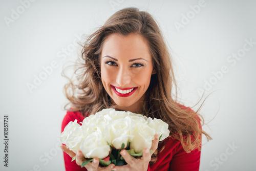 Zdjęcia na płótnie, fototapety, obrazy : White Roses