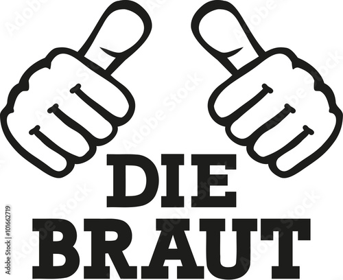 Bride with two thumbs - german