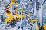 robots in a car plant - Fine Art prints