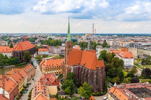 Aerial view of Wroclaw © Sergii Figurnyi