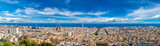 Fototapety Panoramic view of Barcelona