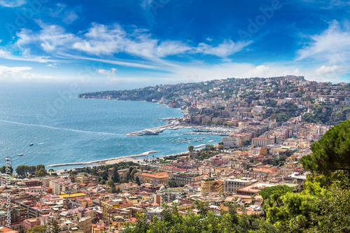 Foto op Canvas Napels Naples in Italy