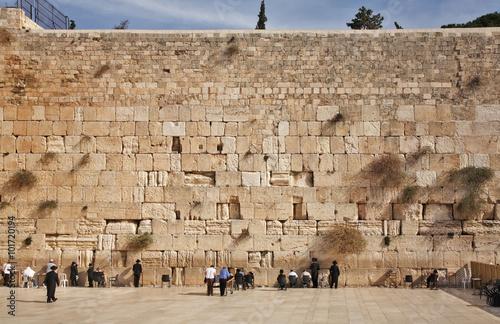Western Wall in Jerusalem. Israel Poster