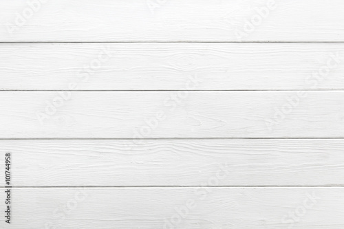 White background of wooden planks - 101744958