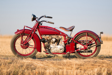 Motorcycle Indian 1928 © xkolba