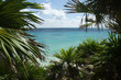 mexican riviera in the carabbean along  the coast from cancun to tulum