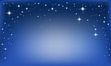 vector background with stars