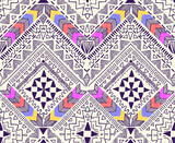 Cool tribal geometric design ~ seamless background
