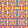 Vector retro pattern of geometric shapes. Seamless abstract texture. EPS 10