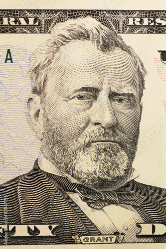 portrait on dollar Poster