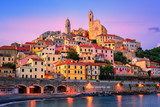 Cervo on mediterranean coast of Liguria, Italy