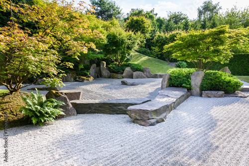 Fotobehang Zen Stenen Giardini del mondo, Giardino Orientale, Berlino