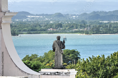 Fotobehang Overige Cathedral of San Juan Bautista - San Juan, Puerto Rico