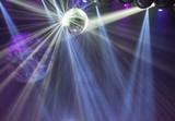 Fototapety Disco ball light