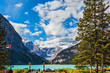 Постер, плакат: Emerald waters of the Lake Louise