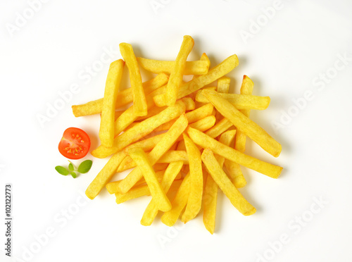 Poster heap of French fries