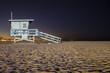 Santa Monica Lifeguard Stand