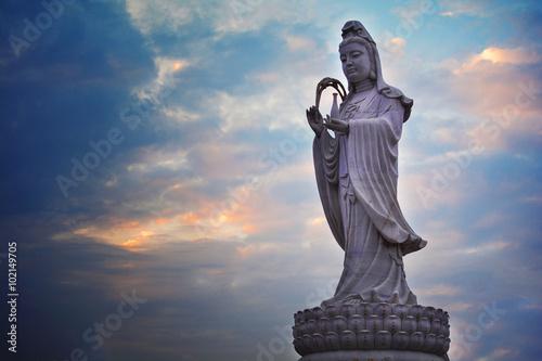 Foto op Plexiglas Indonesië Buddhist Statue in China