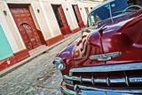 Fototapety Cuba, Trinidad, Vintage Car