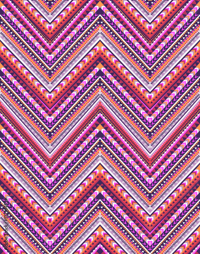 zigzag stripe print ~ seamless background