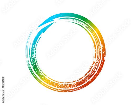 Enso Zen Symbol Fountain Colors