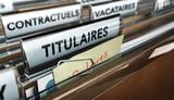 Dossier fonctionnaires et agents publics de ladministration. Salaire des titulaires, contractuels et vacataires