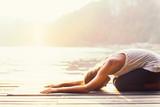 Sun salutation yoga....