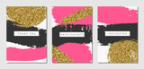 Fototapety Abstract Design Cards Set