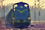 Fototapety Cargo train