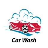 Fototapety Sport Super Car Wash Cool Logo