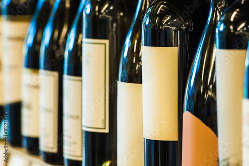 Poster 並んでいるワイン