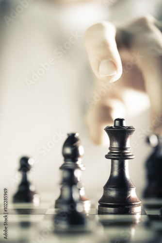 Poster Chess Game Background