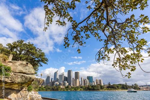 Poster Sydney skyline