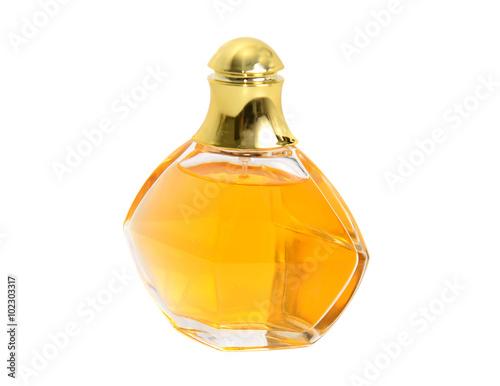 Poster perfume bottle