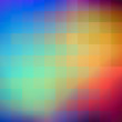 Abstract colorful background of squares. Vector art.