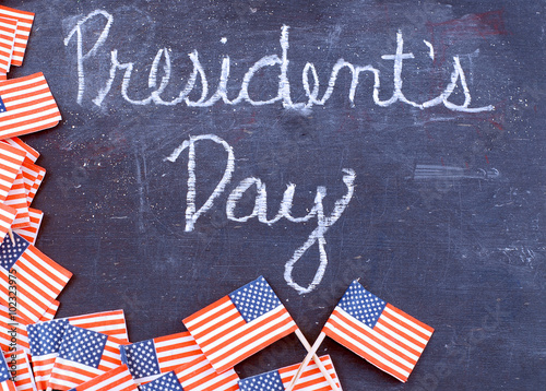 Presidents Day in the United States Плакат