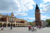 Cracow in Poland (old city) - Sukiennice