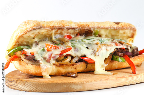 Steak And Cheese Sandwiches With Onions And Mushrooms Recipes ...