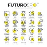 Fototapety Business Services Futuro Spot Icons