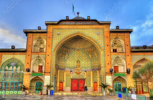 Poster Zaid Mosque in Tehran Grand Bazaar - Iran