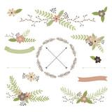 Wedding floral set - 102404396