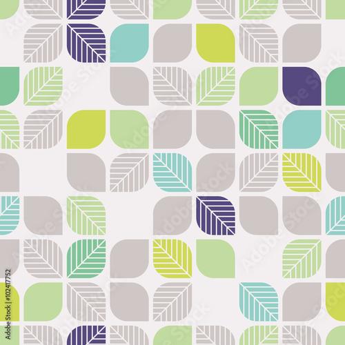 bez-szwu-geometryczny-wzor-z-lisci