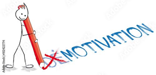 Fototapeta personnage démotivation motivation