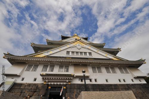Foto op Plexiglas Havana The front entrance of Osaka castle