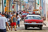 Fototapety Cuba, Trinidad, Street Scene