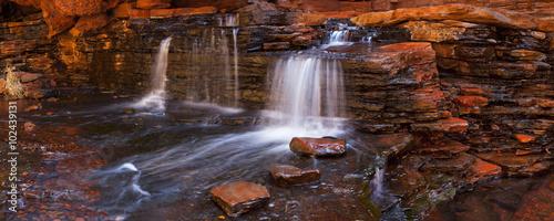 Small waterfall in the Hancock Gorge, Karijini NP, Australia