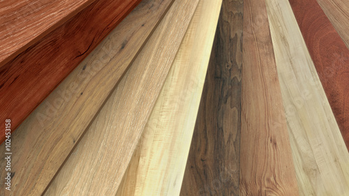 Flooring laminate or parquet samples © pajaro
